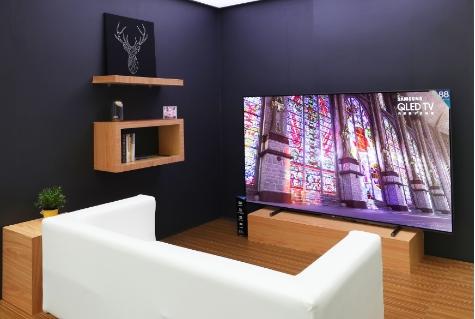 现代生活的极简主义,三星电视赋予家居设计更多想象