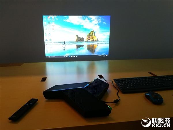4999元!Lightank W100智能投影发布:10秒无网投屏 预装Win10
