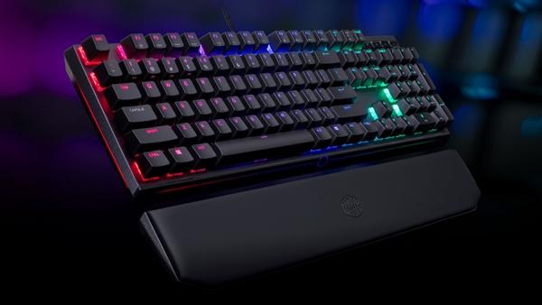 樱桃轴!酷冷至尊发布MK750 RGB机械键盘:磁吸式手托