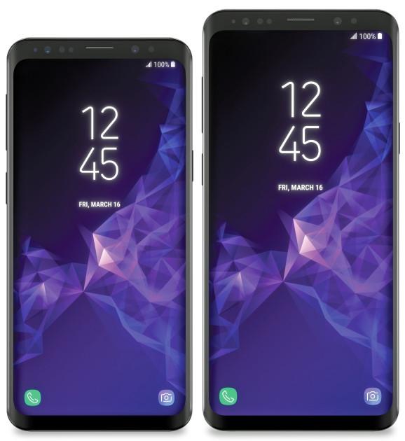 要涨价!三星S9/S9 Plus外形再曝光:屏占比更高