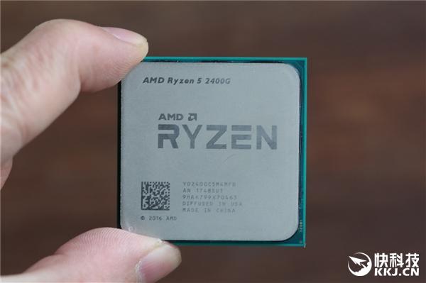 Vega标识惹眼!AMD Ryzen 5 2400G开箱图赏