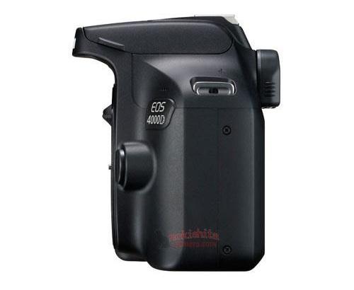 入门级单反 佳能EOS 4000D外观及部分规格曝光