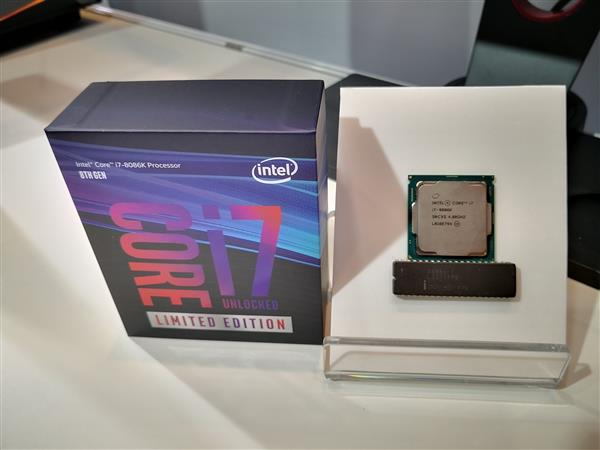 Intel i7-8086K开盖限量版上架:5.3GHz要价5540元