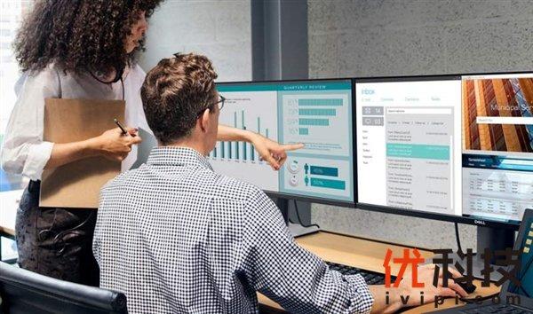 戴尔推出全新P系列显示器 方便用户组建多屏显示