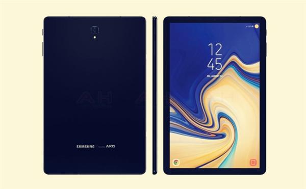三星Galaxy Tab S4平板视频曝光:高屏占比、无Home键