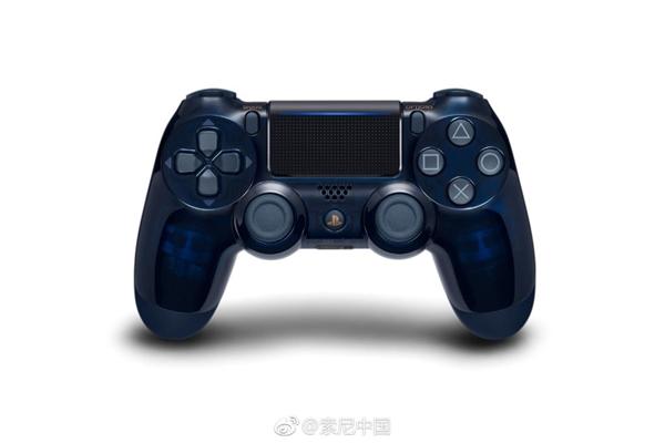 半透明设计!PS4 Pro 5亿台纪念限定版8月24日发售