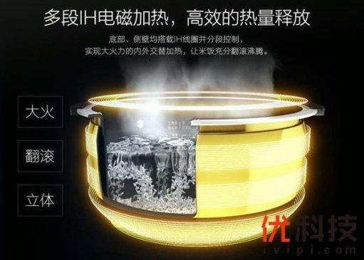 美的推6999元电饭煲 配置对标日系旗舰
