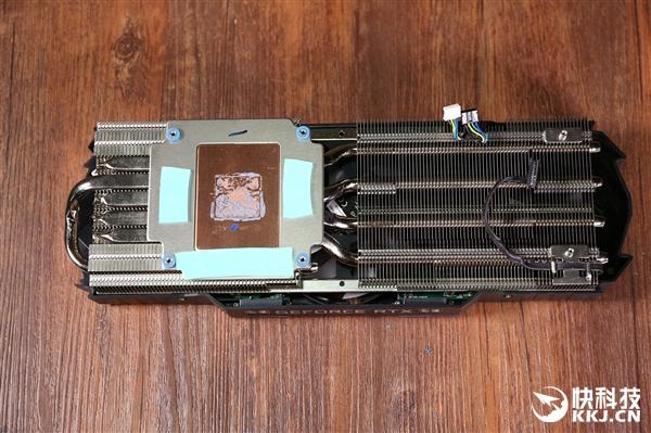 耕升GeForce RTX 2080炫光OC显卡拆解图赏