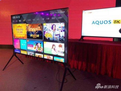 夏普第二代8K电视国内发布:80寸、覆盖125% NTSC