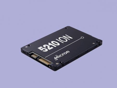 美光QLC固态盘5210 ION批量上市:1.92TB起