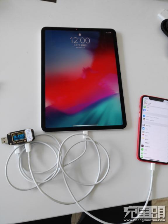 新款iPad Pro给iPhone XS充电会怎样:速度非常惊喜