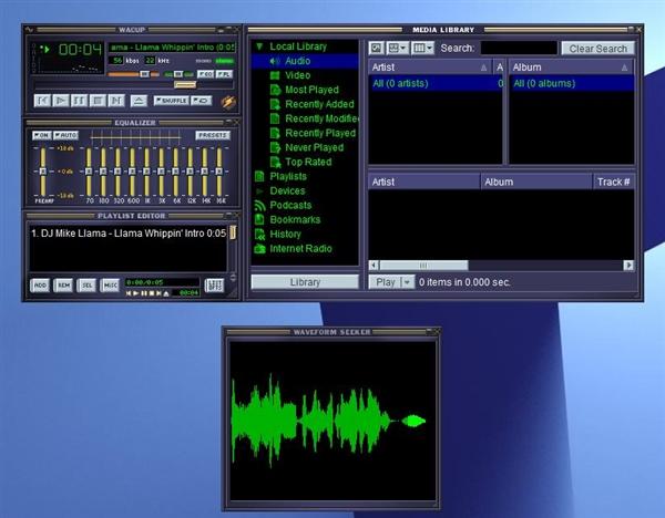 非官方Winamp音乐播放器问世:经典版本获新生