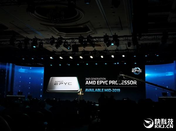 最多64核心:AMD宣布二代EPYC霄龙年中上市