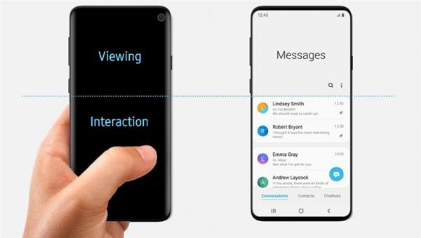 三星One UI文档出现挖孔屏手机 暗示S10采用该方案