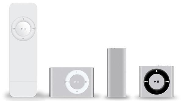 经典口香糖:第一代iPod shuffle已经14岁了
