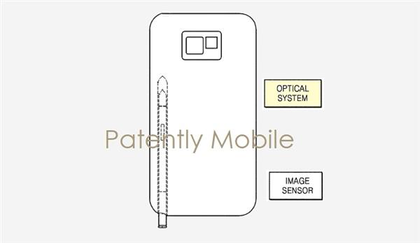 合二为一!三星S Pen新专利曝光:是笔更是光学变焦相机