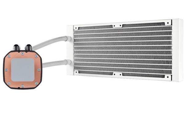 纯白配色!海盗船推出新款H100i Platinum SE白金水冷散热器