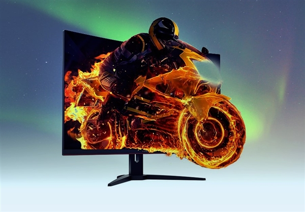 AOC推出31.5英寸曲面显示器:144Hz+2K屏