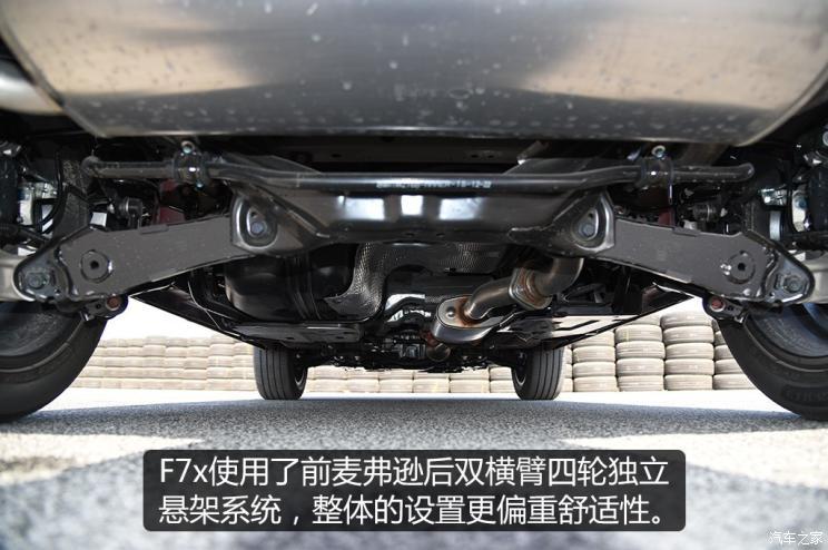 长城汽车 哈弗F7x 2019款 基本型