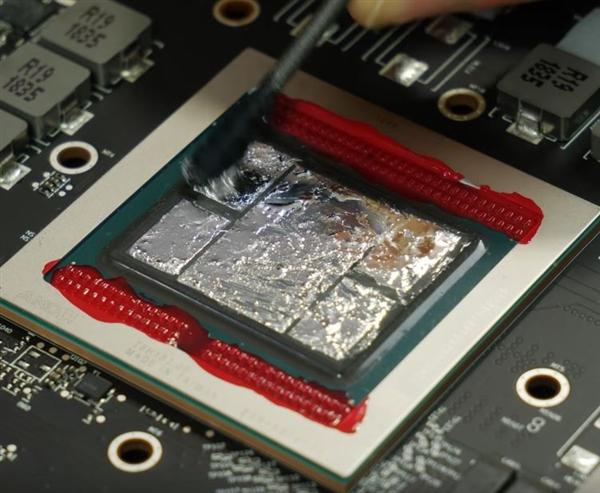 Radeon VII更换液态金属散热:温度降低5℃