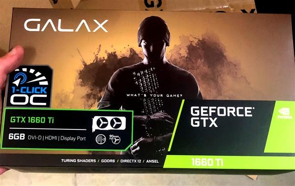 三家GTX 1660 Ti齐曝光:ITX迷你单风扇