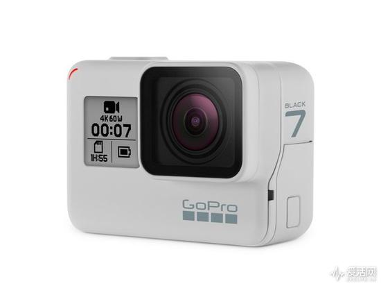 GoPro HERO7 Black迎来首款限量白色